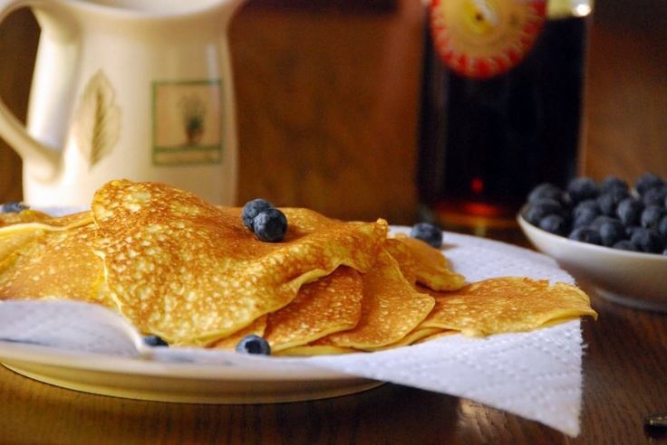Delicate Cream Cheese Pancakes