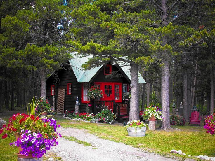 Cozy Cabin Mini Abodes Pinterest