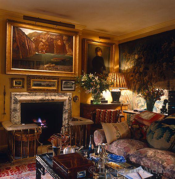 Pin by on cozy elegant - Cozy elegant living rooms ...