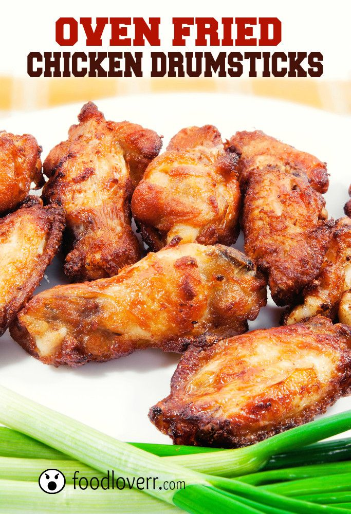 Oven Fried Chicken Drumsticks | My Recipe Exchange ~ Let's Share! | P ...