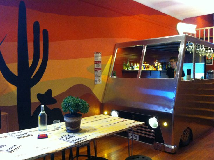 Mexican restaurant quot cantina móvil decor ideas pinterest
