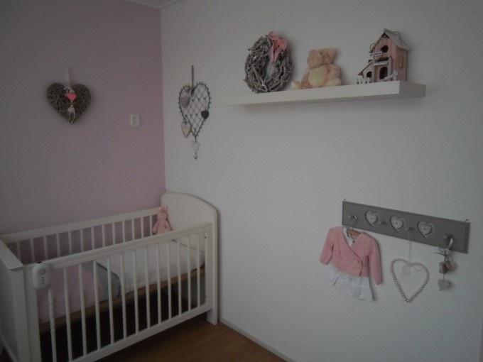 Babykamers op babybytes: Landelijke-kamer-voor-ons-meisje MOOI
