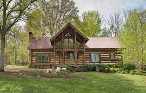 Luxury Log Cabin For Sale In Tn
