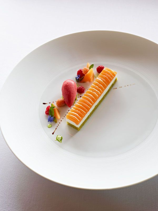 Ratatouille food plating
