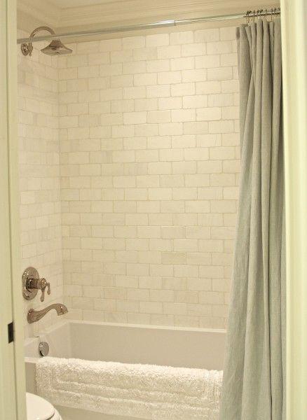 Tile dolomite white tumbled marble bathroom ideas for Tumbled marble bathroom designs