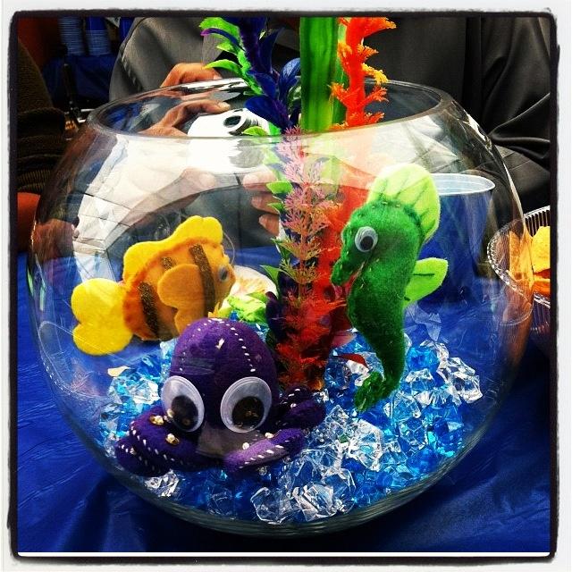 under the sea theme centerpiece baby days pinterest