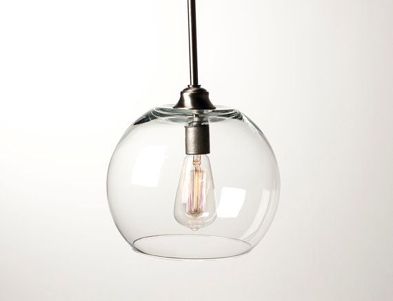 edison bulb pendant light fixture brushed nickel by dancordero. Black Bedroom Furniture Sets. Home Design Ideas