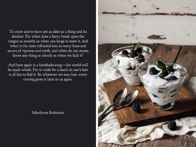Blackberry Fool by pastryaffair | ~ Fruit ~ | Pinterest