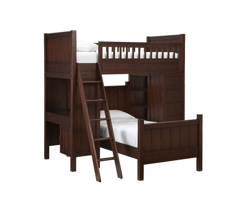 Ashton's and his brother's bunk bed?