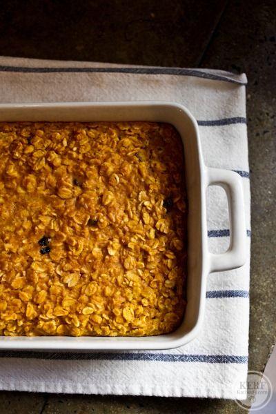 Baked Pumpkin Oatmeal | Mmmm...food. | Pinterest