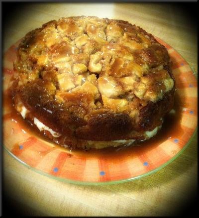 Caramel-Rum Apple Cake | Utter Deliciousness! | Pinterest