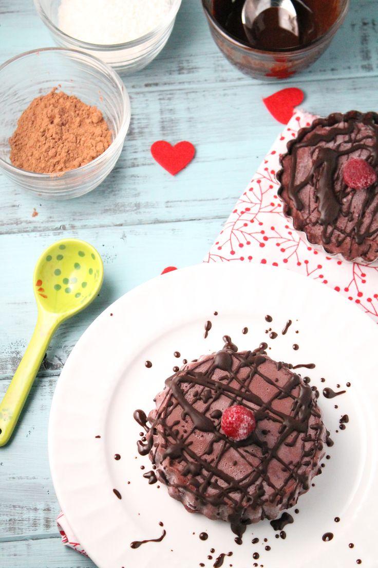 Decadent Chocolate Torte w/ Raspberries – Gluten Free, Vegan, Paleo