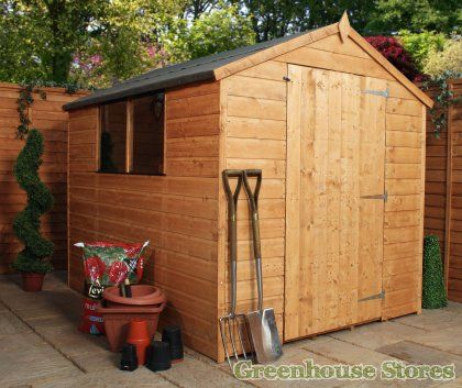Cotswold Shiplap 8x6 Wide Door Shed