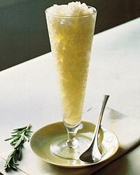 Lemon and Rosemary Granita | Recipe