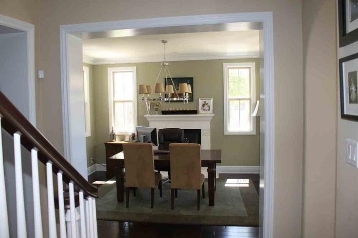 Formal dining room office home office pinterest for Dining room vs office