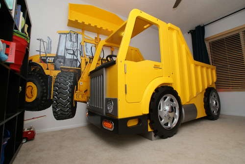 The dump truck bed just for boys pinterest - Dump truck twin bed ...