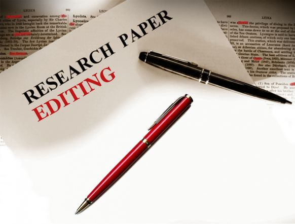 research paper editing marks