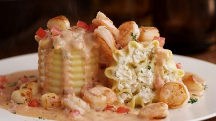 Olive Garden Seafood Lasagna Yummy Treats Pinterest