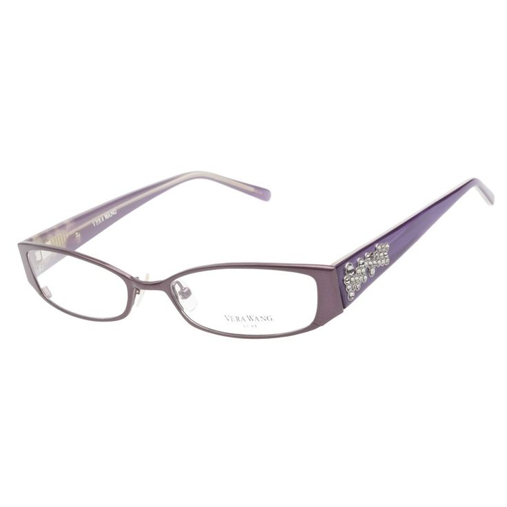 Eyeglass Frame Deals : Vera Wang Starlet Blackberry Prescription Eyeglasses