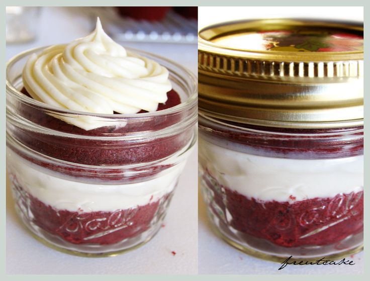 DIY gift idea - cupcake in a jar
