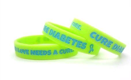 Cure diabetes bracelet youtube