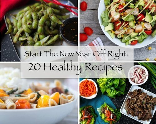 Start The New Year Off Right: 20 Healthy Recipes - by Shared Appetite