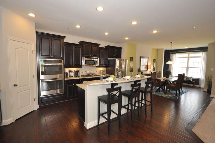 Orchard kitchen model home interiors pinterest for Model home kitchens