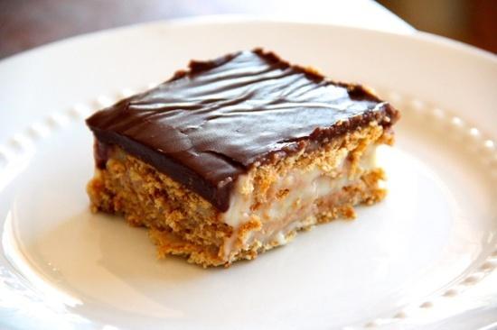 Boston Cream Pie Ice Box Cake | Ice Box Cakes & Pies....no bake | Pin ...