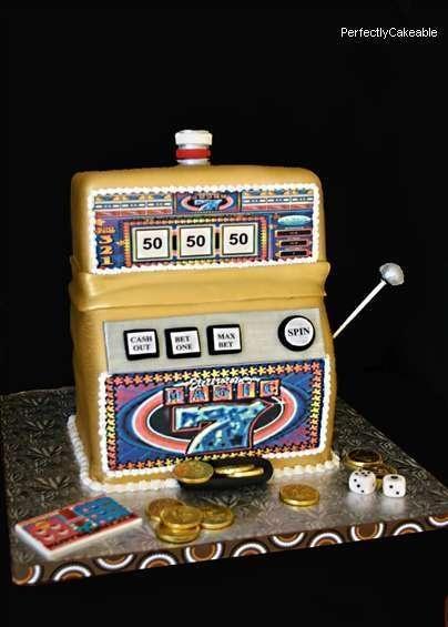 Slot machine cake decorating ideas