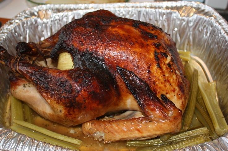 Apple Cider Brined Roast Turkey | Turkey recipe | Pinterest