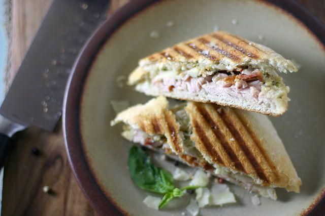 Turkey, Brie And Pesto Panini Recipes — Dishmaps