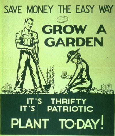 Grow a Garden - It's Patriotic!