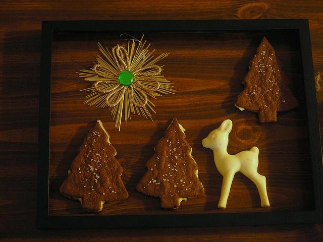 salt & pepper tree cookies   Holidays   Pinterest
