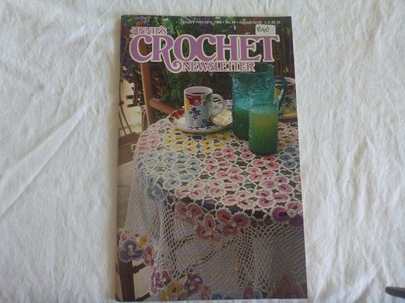 Annies Crochet Newsletter Jan/Feb 1994 n67 by CarolsCreations77, $4.50