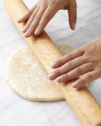 See the Roll the Dough into Rounds About This Thick in our Piecrust ...
