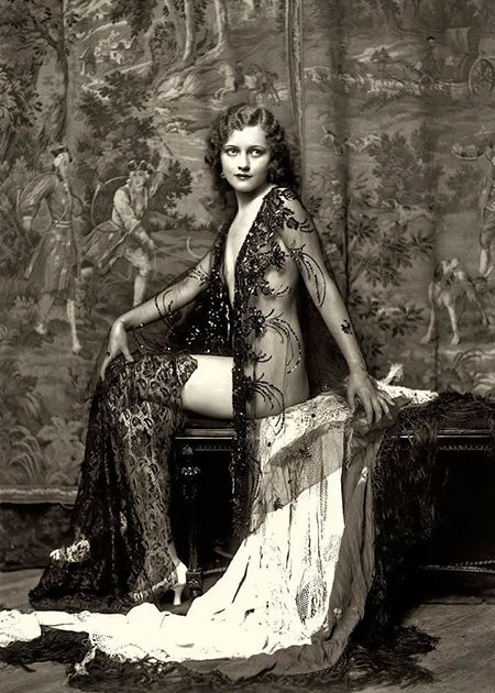 Mary Nolan of the Ziegfeld Follies.The Ziegfeld Follies were a series of elaborate theatrical productions on Broadway in New York City from 1907 through 1931. Inspired by the Folies Bergères of Paris, the Ziegfeld Follies were conceived and mounted by Florenz Ziegfeld Photography by Alfred Cheney Johnston, the official photographer of the Zeigfeld Follies.