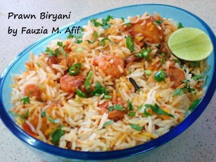 Shrimp Biryani Recipe — Dishmaps