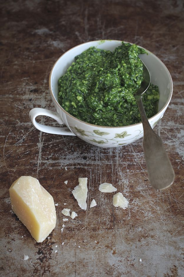Wild Garlic Pesto Recipe | Savory Food | Pinterest