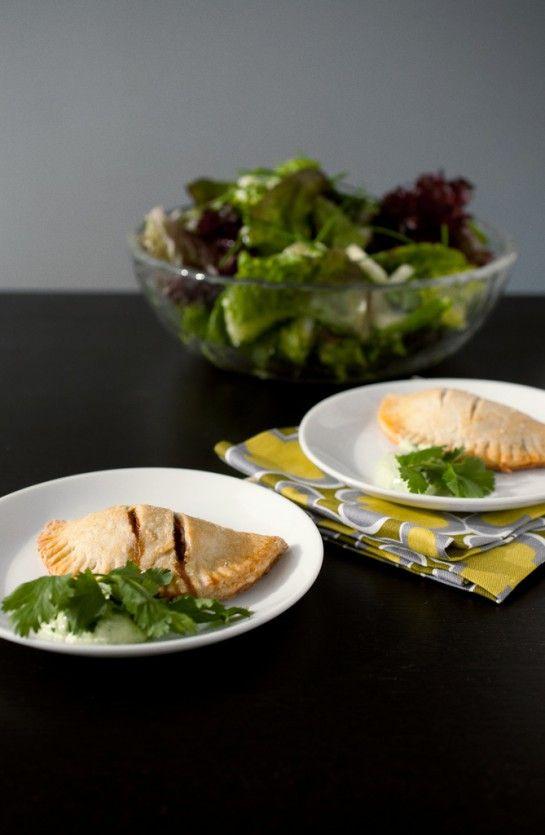 Spicy empanadas with cilantro cream | Side Dishes | Pinterest