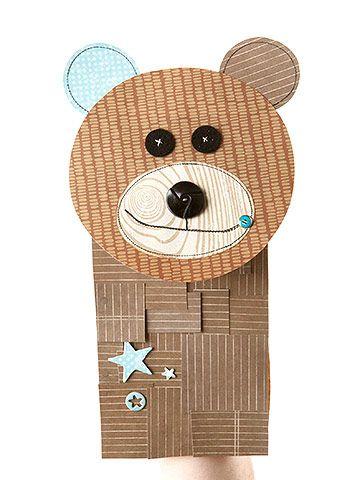 Cuddly Bear Puppet