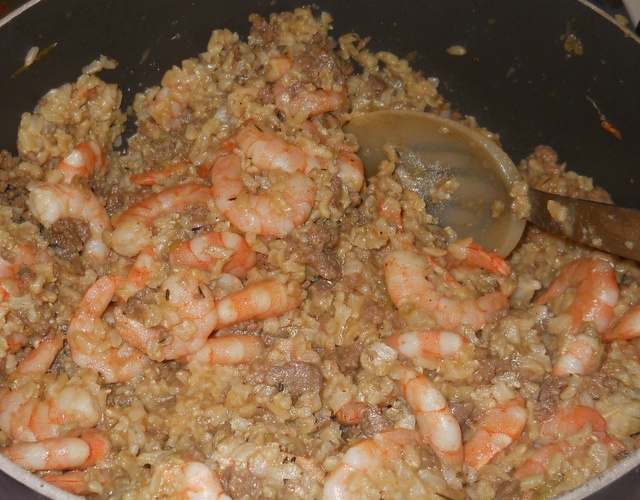 dirty brown rice with shrimp | tried and true recipes | Pinterest