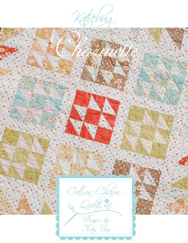 Quilting Patterns Charm Packs : Katiebug Charm Pack Pattern! quilts Pinterest