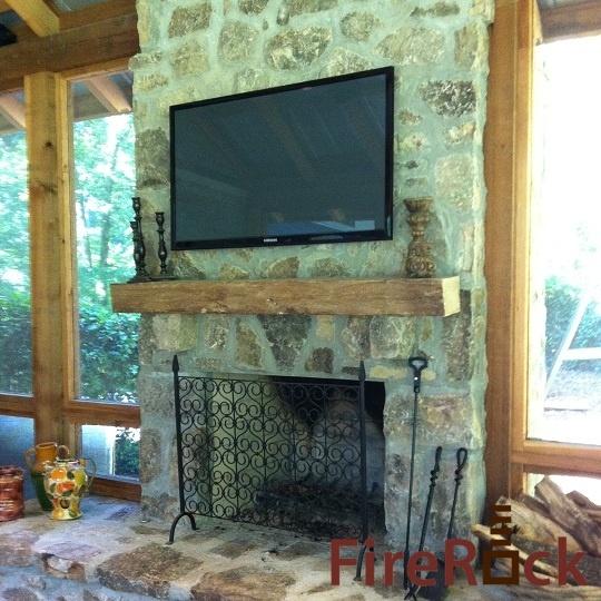 Firerock fireplace kit cabin remodel ideas pinterest for Firerock fireplaces