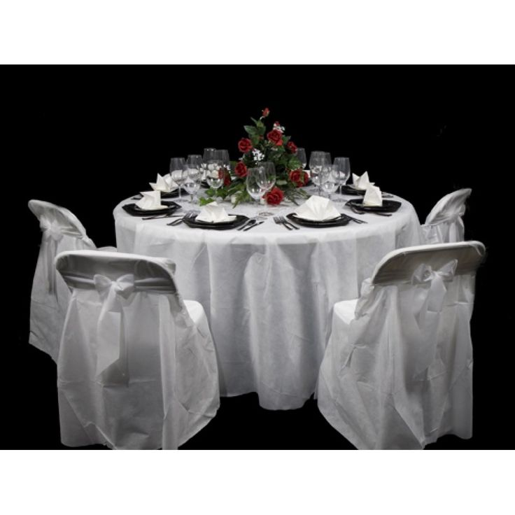 Disposable Table Covers Round 120