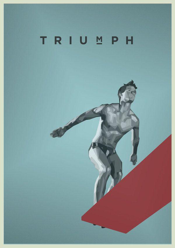 Triumph Olympic Poster/Ben Grib