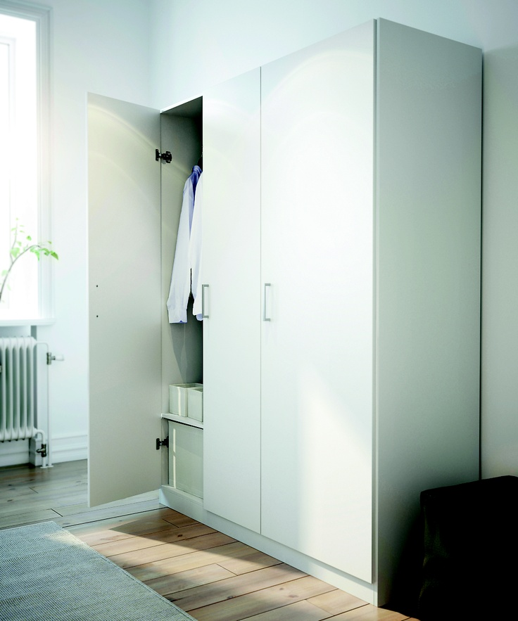 Ikea Kleiderschrank Rakke Neu ~ Dombas Wardrobe  Rooms (L)  Pinterest