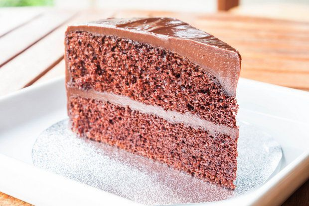 Bittersweet chocolate buttermilk cake | Food and Drink | Pinterest