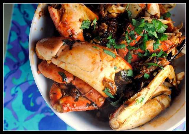 Singapore Chili Crab & Pepper Crab | Food to cook | Pinterest