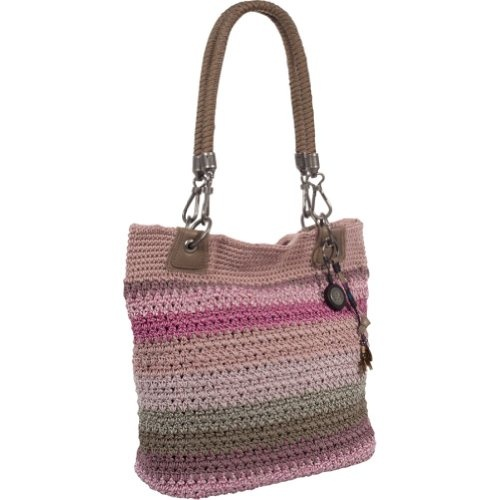 The Sak Crochet Tote : The SAK Bennett Crochet Small Tote I need this! Pinterest