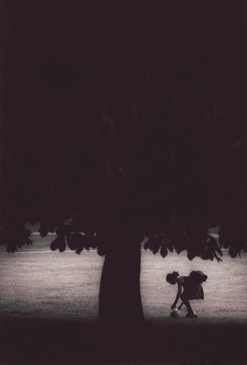 """Girl and Tree by Michael Crouser"""